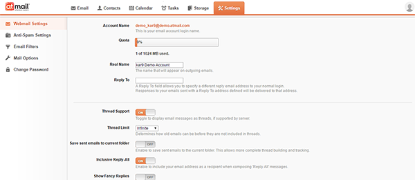 BarWeb Mail 1